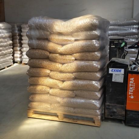 Træpiller i premium kvalitet 8 mm 900 kg